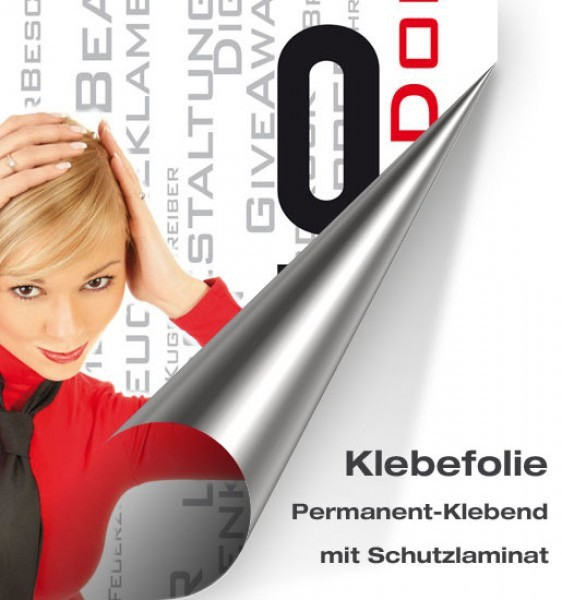 Klebefolie für Top Schild Topstream