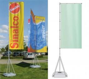 T-Pole® 100 einseitig