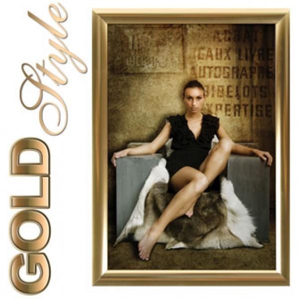 Klapprahmen - Gold Style