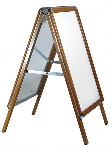 Kundenstopper Classic Holz-Optik 32mm