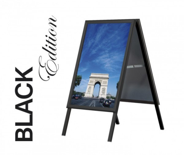 Kundenstopper Classic - Black Edition